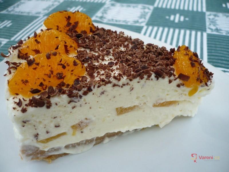 Zmrzlinový smetanový dort
