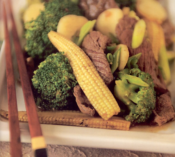 Marinované hovězí maso