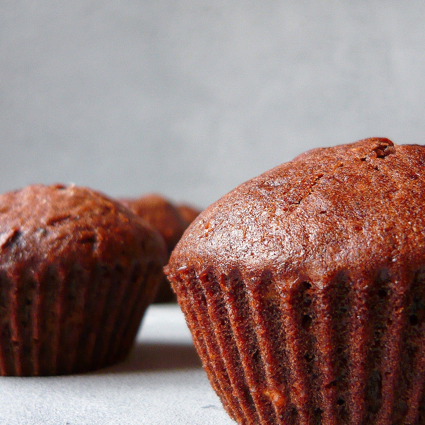 Výborné kakaové muffiny