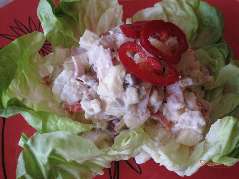 Lahůdkový kuřecí salát