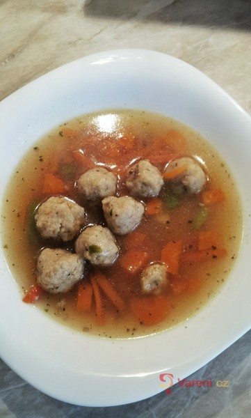 Strouhankové knedlíčky do polévky