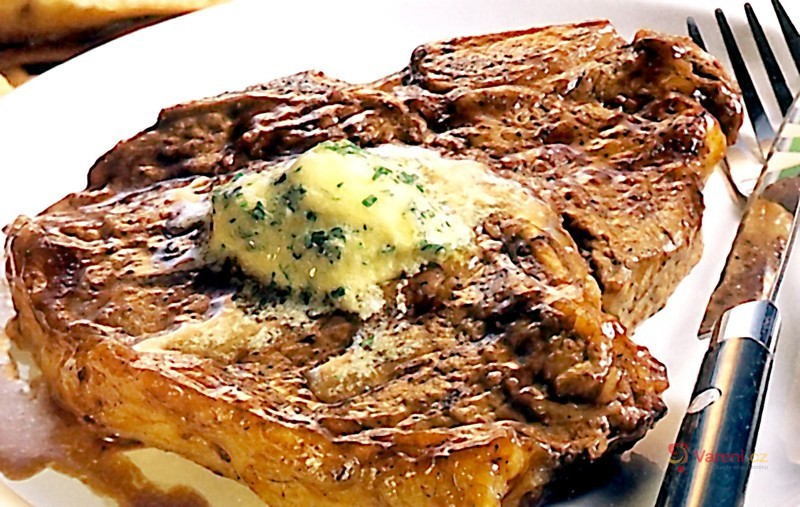 Steak z hovězí kotlety