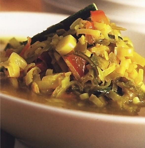 Pikantní zeleninová polévka