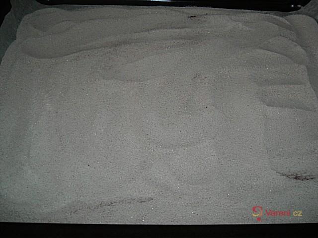 Kakaový sypaný koláč