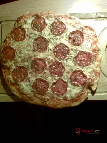 Těsto na pizzu z pizzerie
