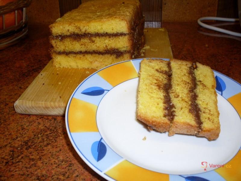 Pudinková buchta z domácí pekárny