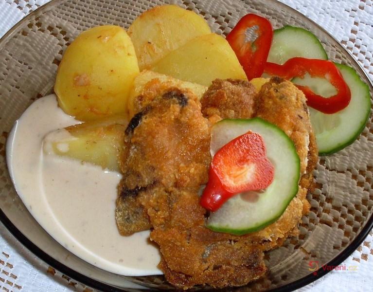 Kuře smažené v troubě