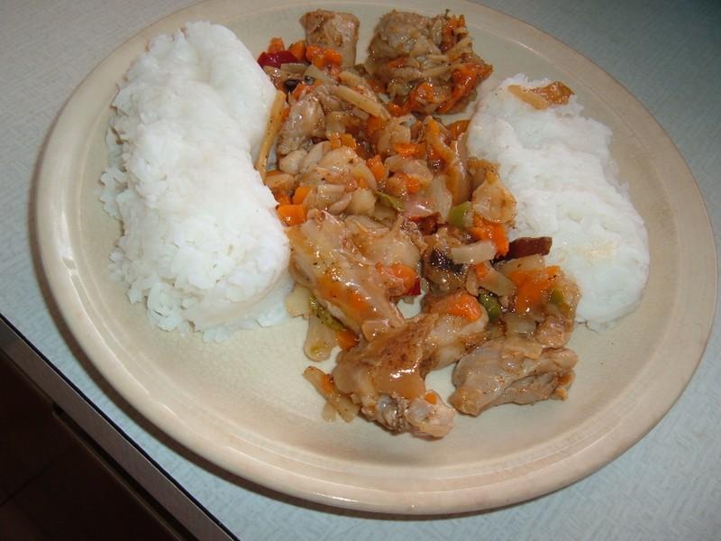 Kuřecí čína se zeleninou