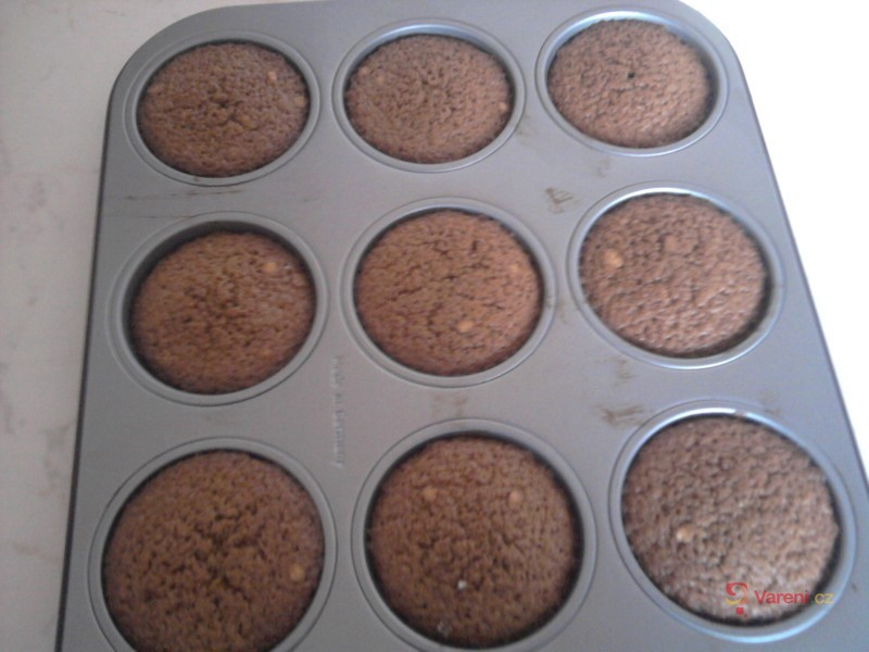 Kávové muffiny