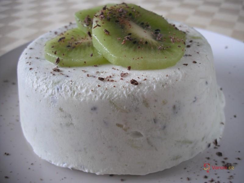 Domácí zmrzlina z kiwi