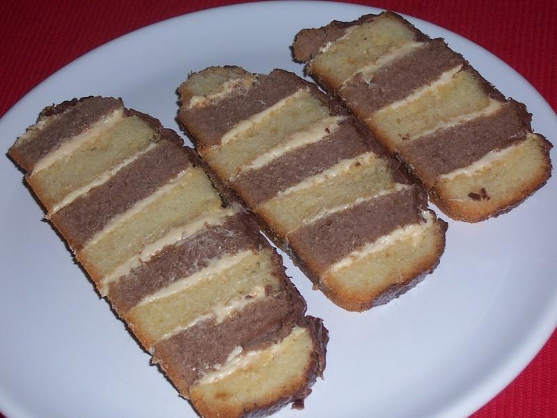 Pruhované řezy z domácí pekárny