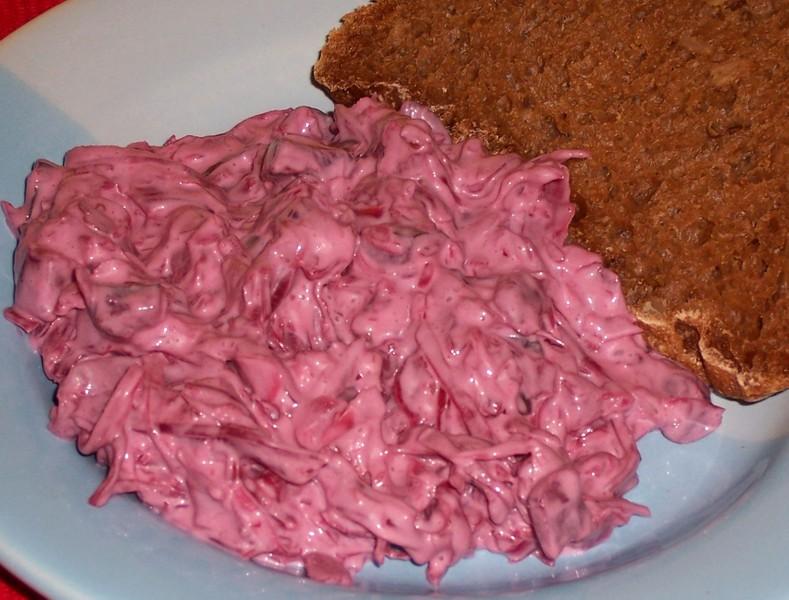Fialový salát