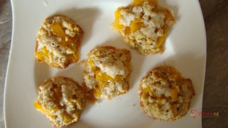 Sušenky z ovesných vloček a kokosu
