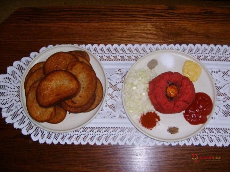 Domácí tatarský biftek