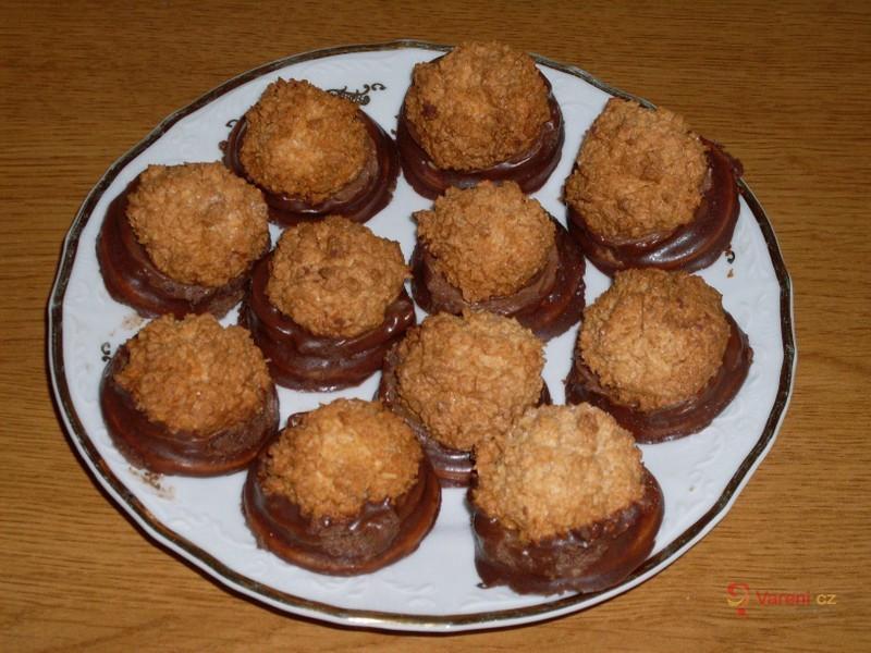 Kokosky v čokoládě