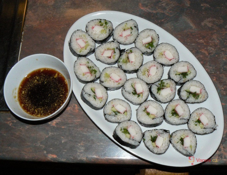 Sushi - Maki s krabími tyčinkami