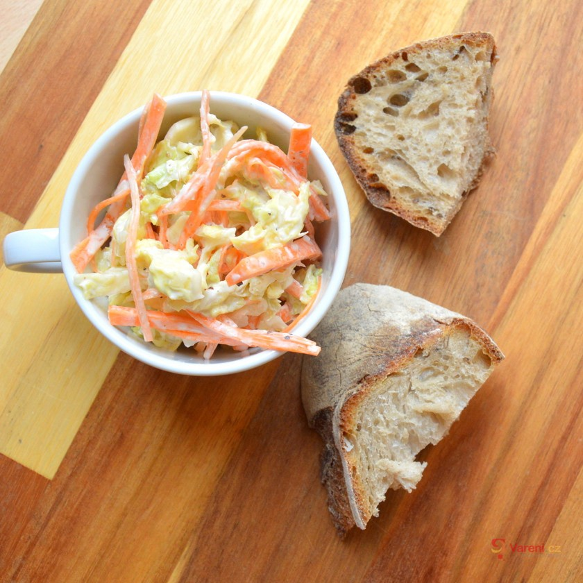 Mrkvovo-zelný salát