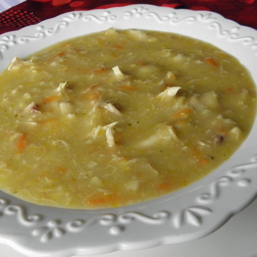 Kuřecí krémová polévka