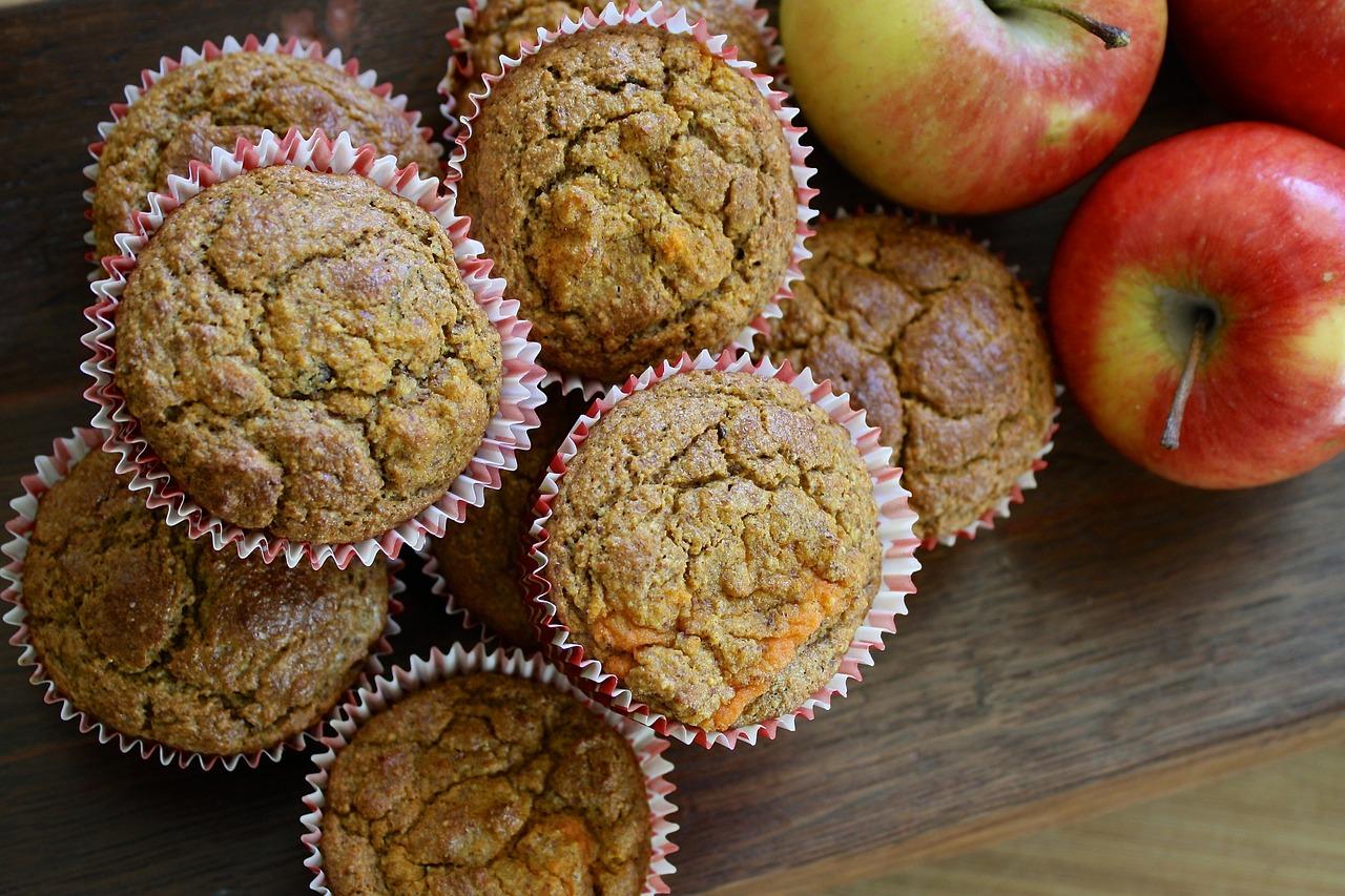 Recept na jablečné muffiny krok za krokem
