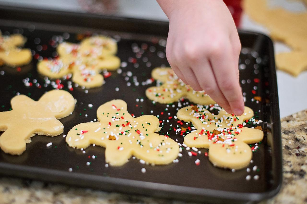Základní suroviny k pečení vánočního cukroví