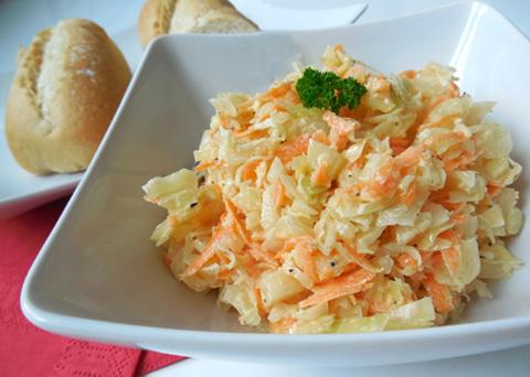 Recept na salát coleslaw krok za krokem