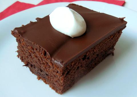 Recept na jogurtový koláč s čokoládou krok za krokem