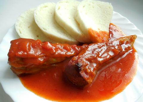 Recept na plněné papriky s rajskou omáčkou krok za krokem