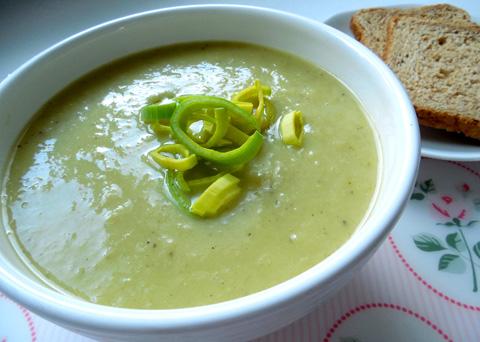 Recept na pórkovou polévku krok za krokem