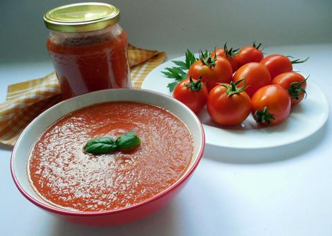 Recept na domácí kečup krok za krokem