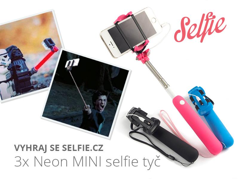 Výherci soutěže o selfie tyč nejen pro focení v kuchyni