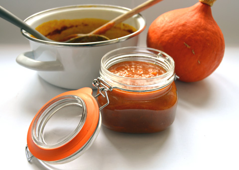 Recept na dýňový džem krok za krokem