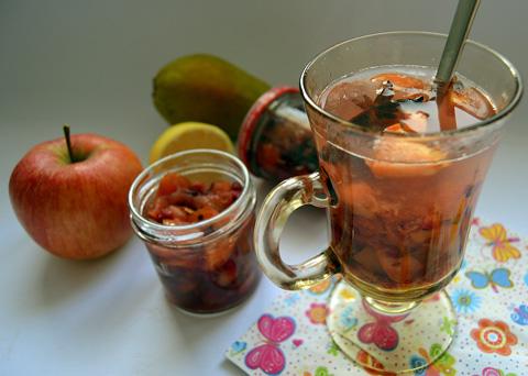 Recept na pečený čaj krok za krokem