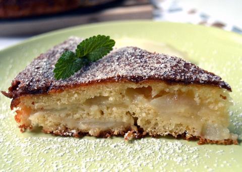 Recept na francouzský hruškový koláč krok za krokem