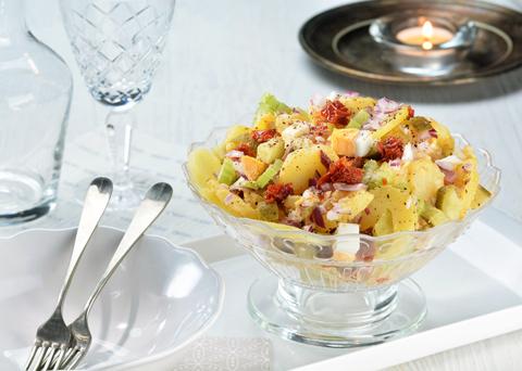 Recept na originální bramborový salát