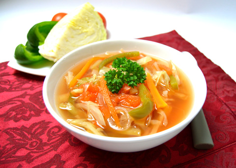 Recept na tukožroutskou polévku krok za krokem