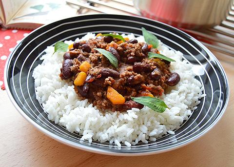 Recept na chilli con carne krok za krokem