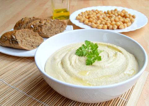 Recept na hummus - cizrnovou pomazánku krok za krokem