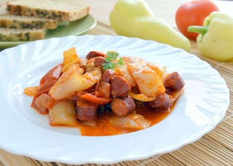 Recept na pravé maďarské lečo krok za krokem