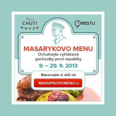 Masarykovo menu 2013