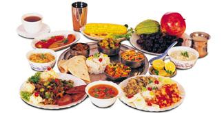 hlavní jídla