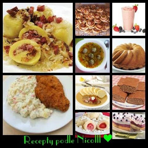Recepty podle Nicolll ❤
