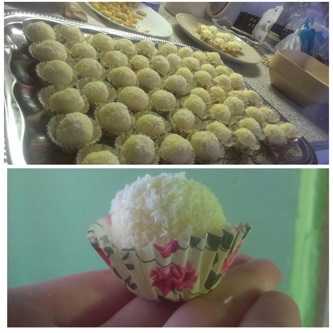 Recept Rafaelo - Moje tvorba, myslím, že se zadařilo :)