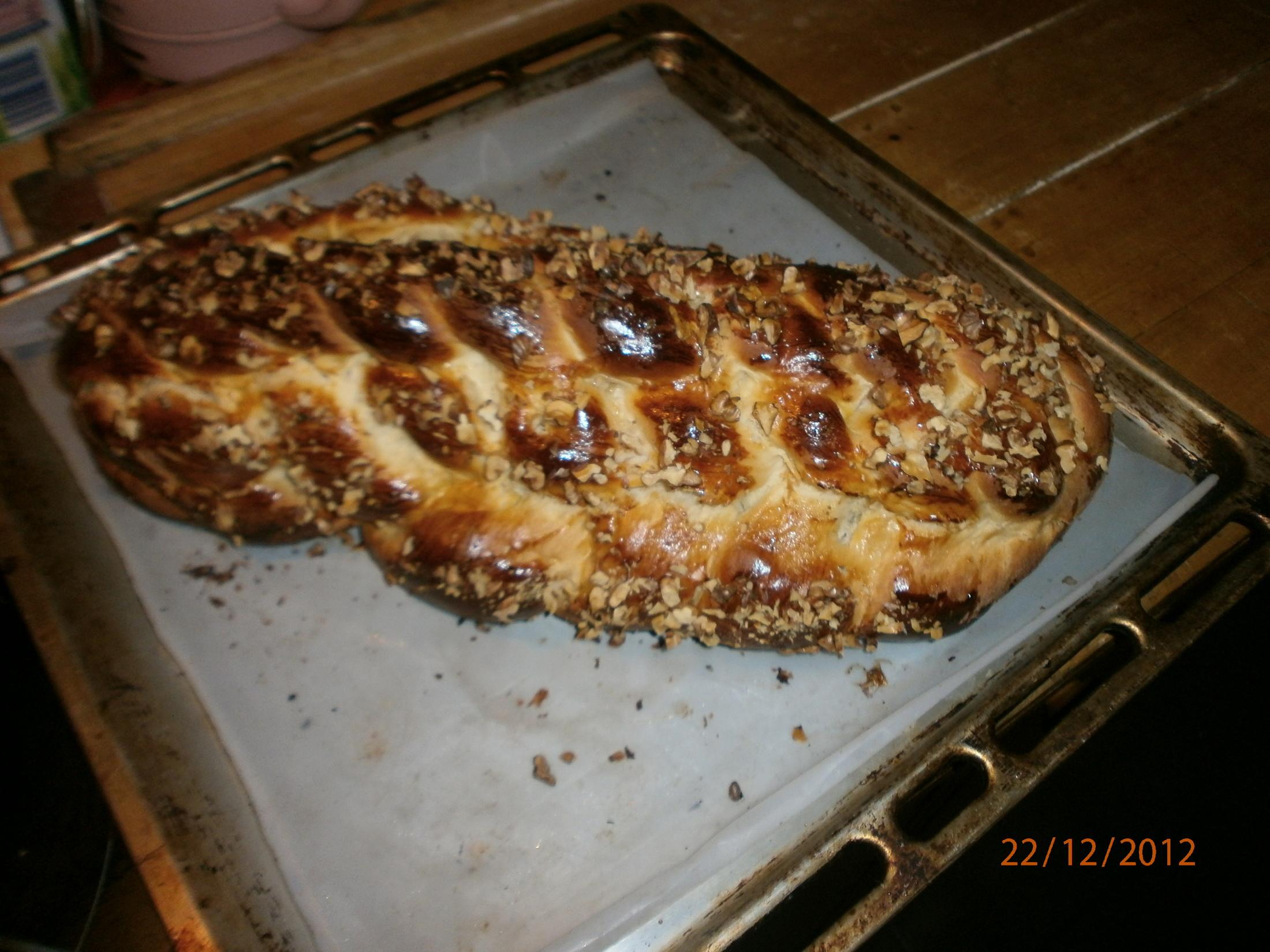 Recept Vánočka mojí babičky - Vánočka byla výborná :)