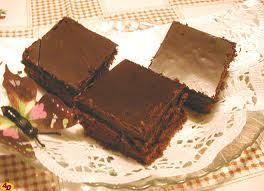 Kefírová buchta s kakaovým krémem