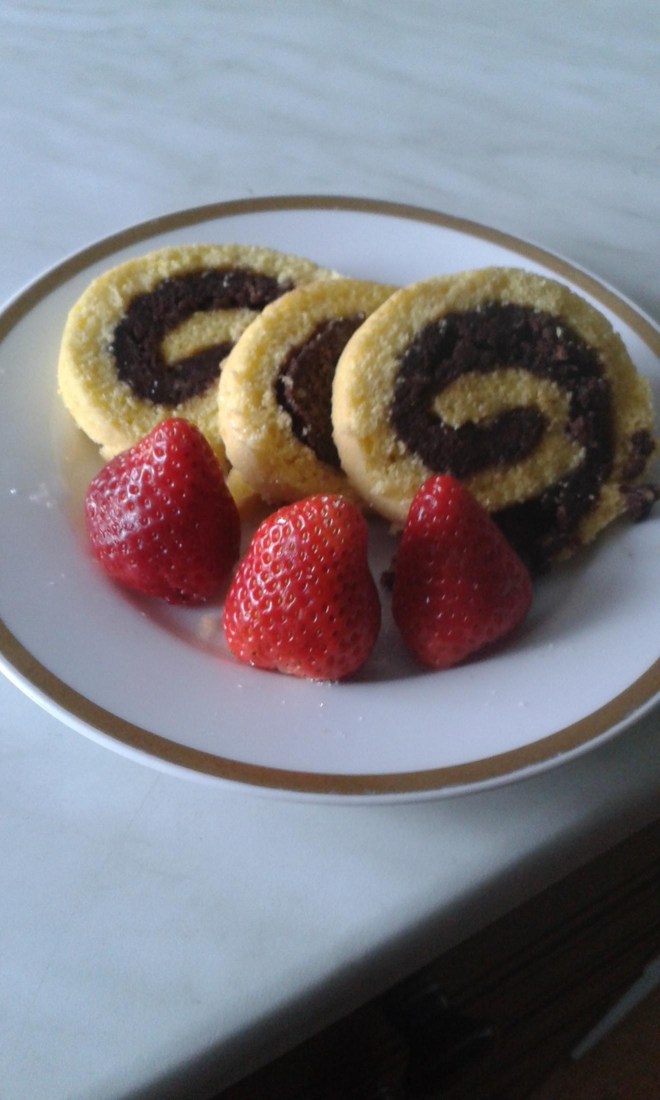 Fotografie receptu: Čokoládová roláda