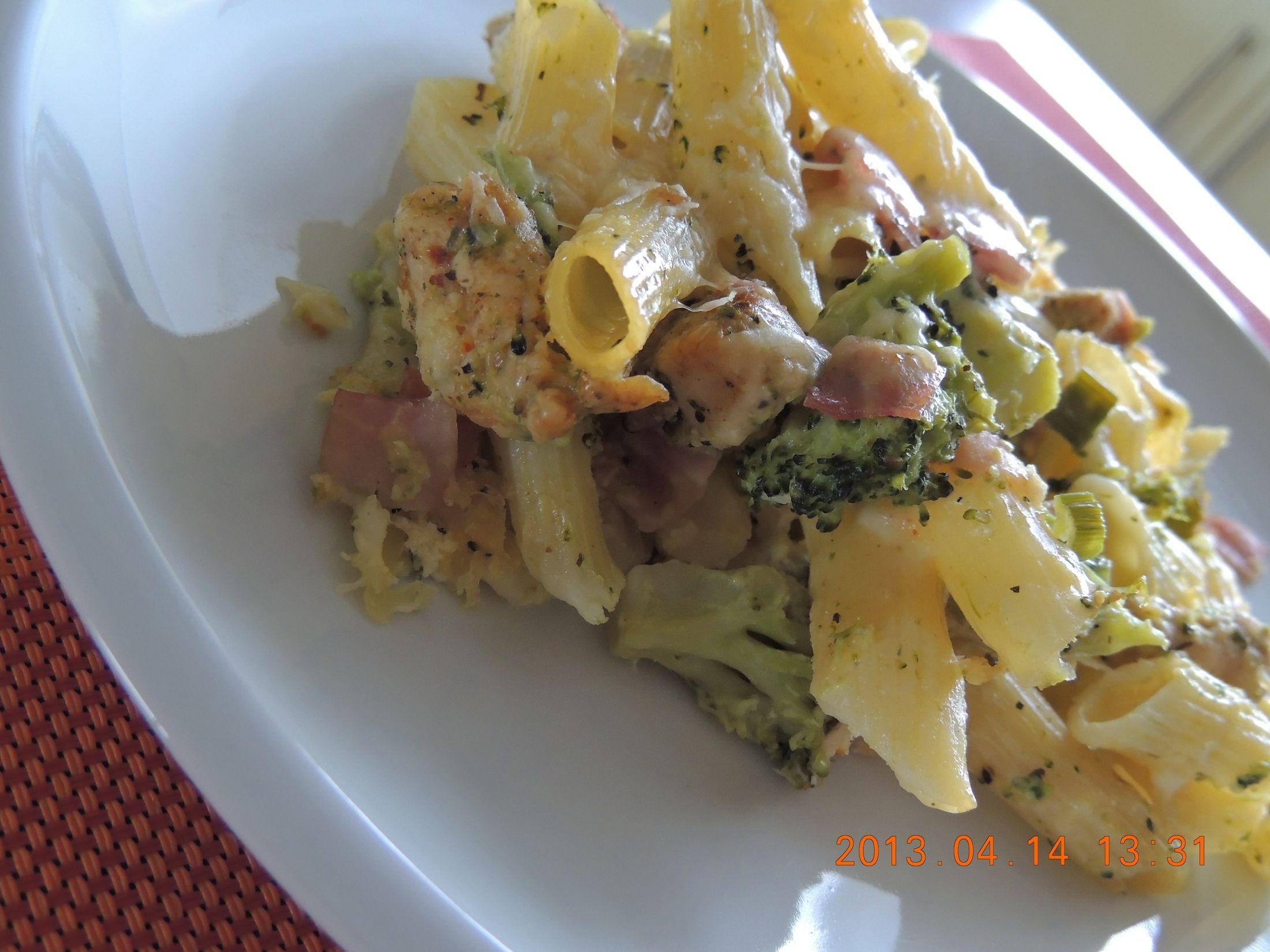 Recept Brokolice s těstovinami - Brokolice s těstovinami