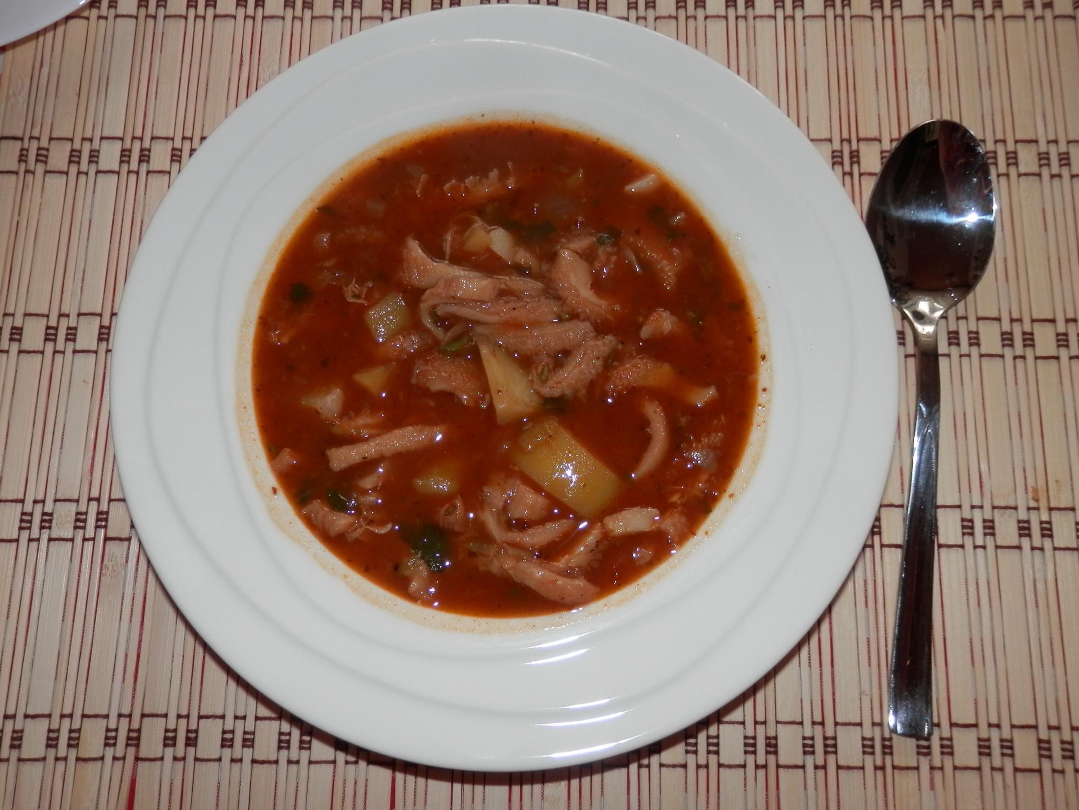Recept Babiččina dršťková polévka - Babiččina dršťková