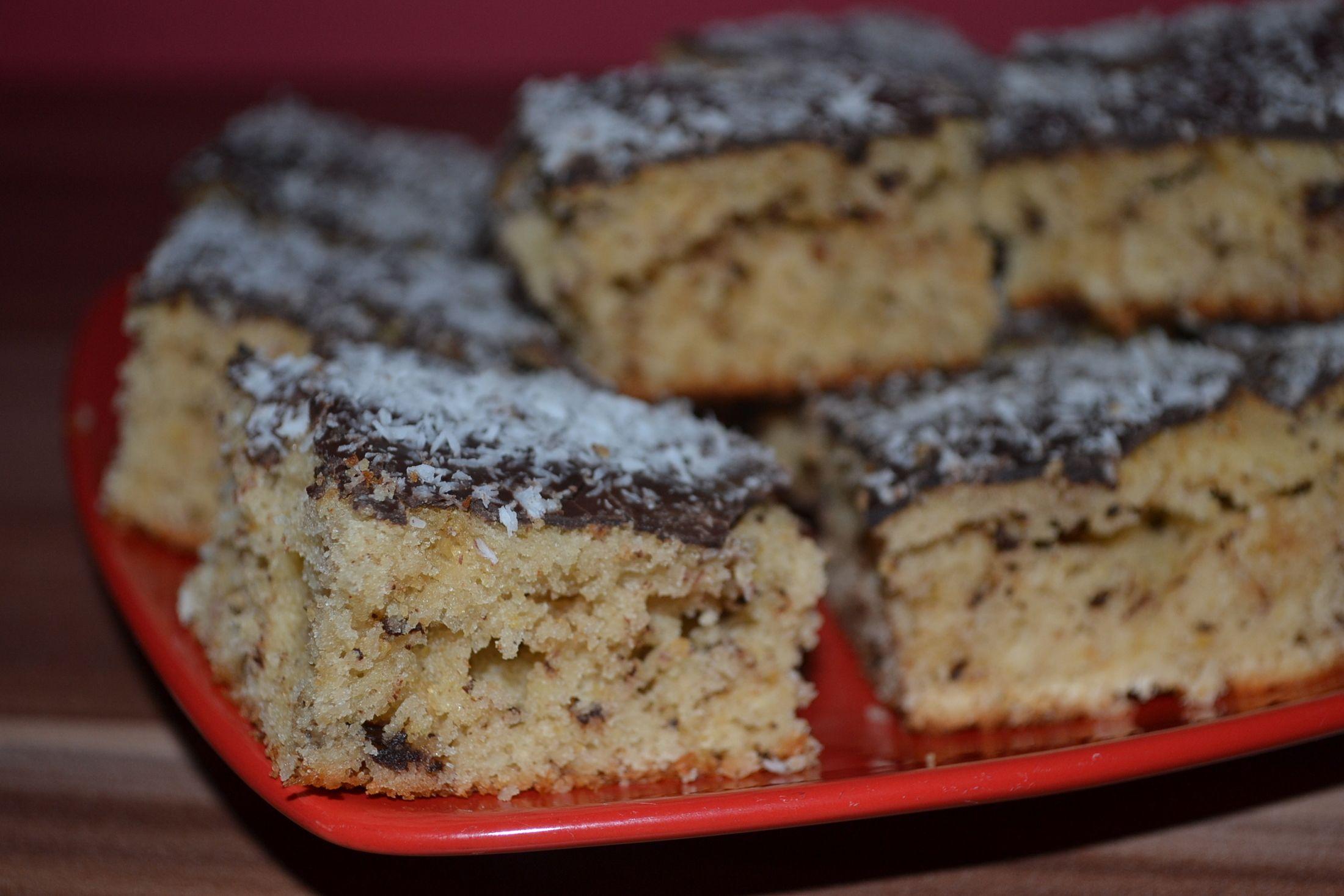 Recept Řezy Margot s čokoládovou polevou - Řezy Margot s čokoládovou polevou
