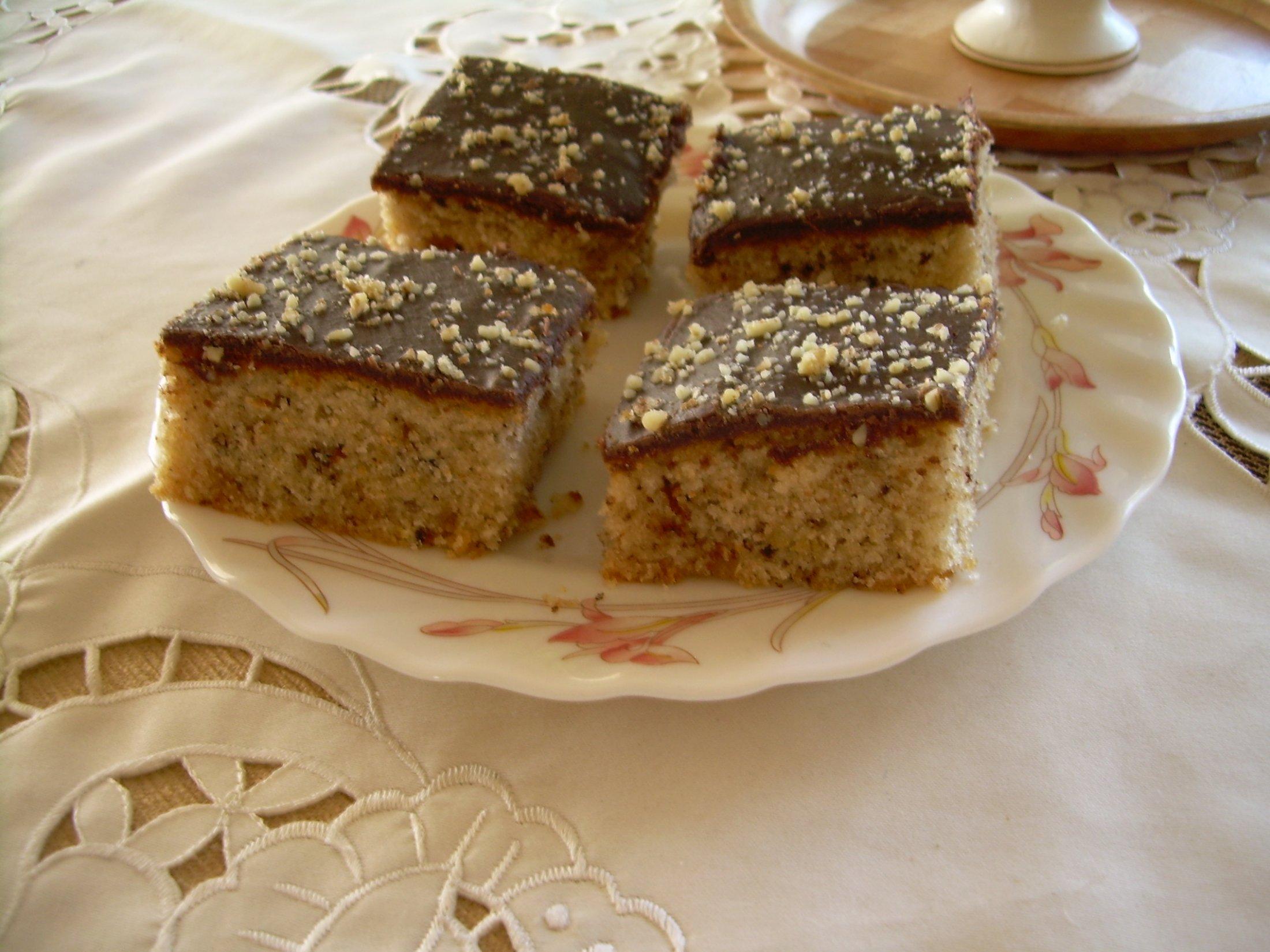Recept Řezy Margot s čokoládovou polevou - Chutnají výborně:-))