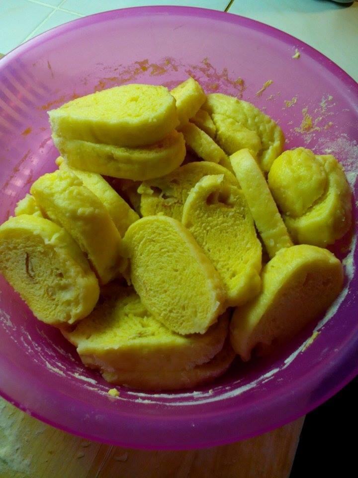 Recept Kynuté houskové knedlíky - Kynuté houskové knedlíky - hotovo.